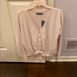 NWT Abercrombie & Fitch V Neck Cardigan